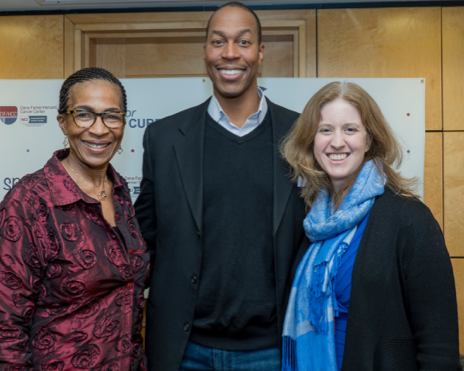 L to R: Karen Burns White, Travis McCready, and Emily McMains